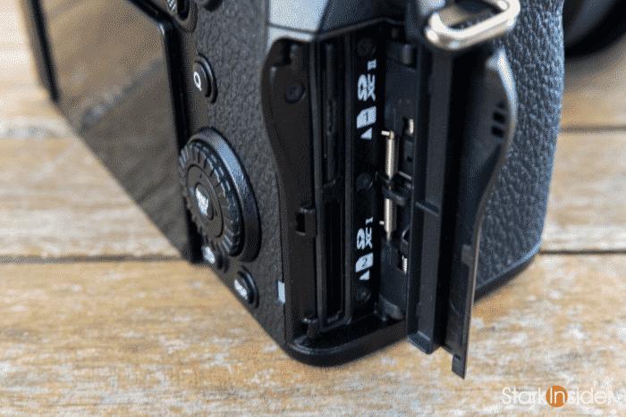 Panasonic S5 Dual SD Slots