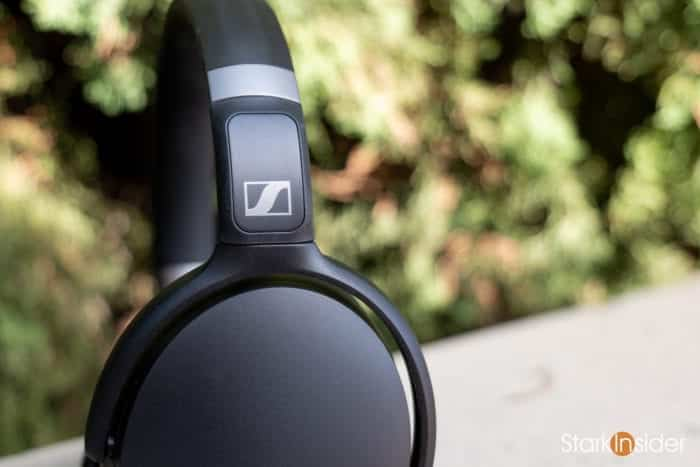 Sennheiser HD 450BT wireless noise cancelling headphones - Sennheiser Logo