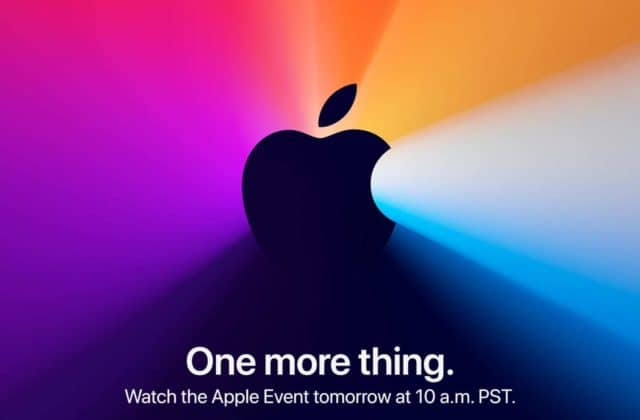 Apple One More Thing Event - Watch