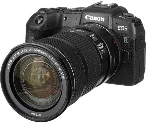Canon EOS RP Full Frame Mirrorless Vlogging Camera