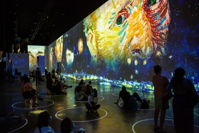 Immersive Van Gogh - Exhibit San Francisco First Look