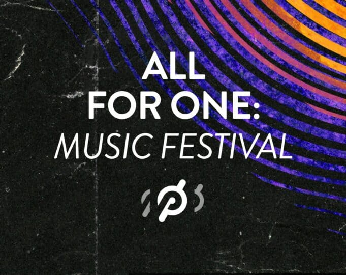 Peloton All For One Music Festival artists schedule