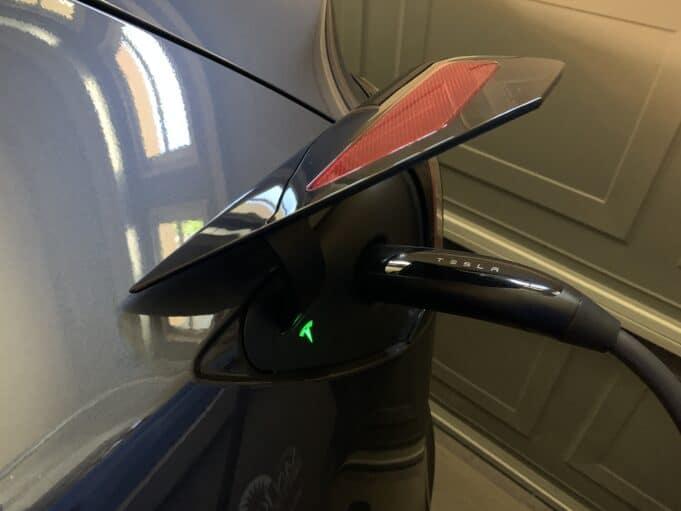 Tesla Model Y charging