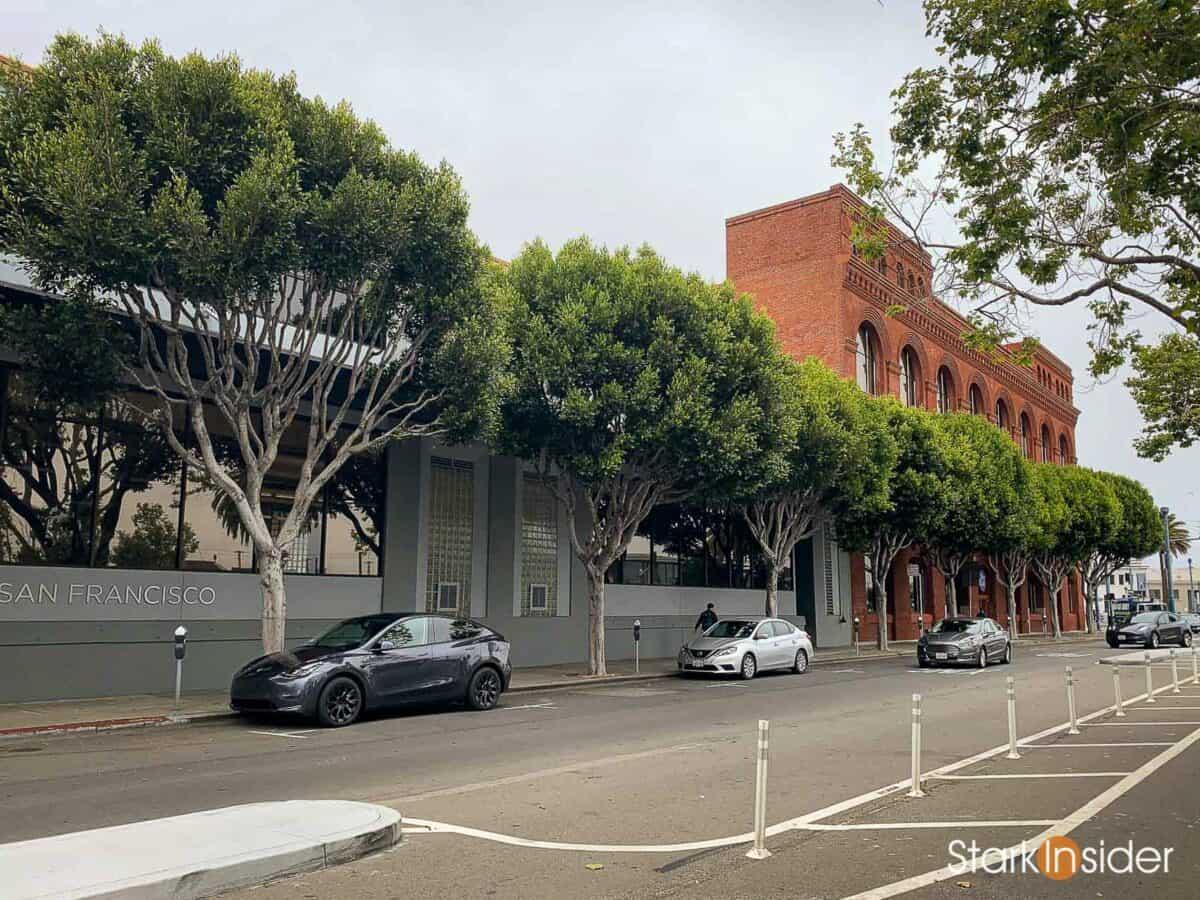Tesla Model Y in San Francisco