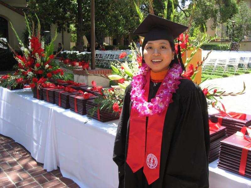 Lonistanfordgraduation