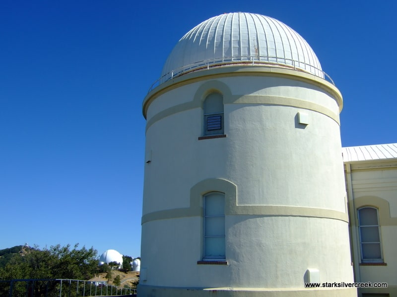 An observatory at Lick on Mount Hamilton in San Jose