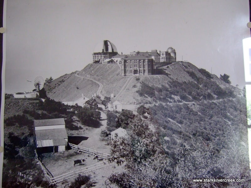 A phot of Lick Observatory from 1887