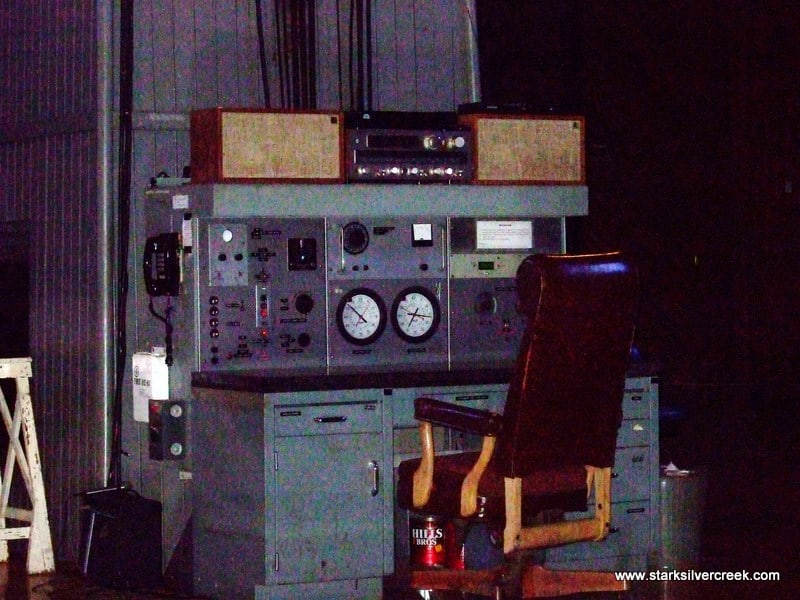 The control panel from Lick Observatory is out the Dr. No James Bond movie!