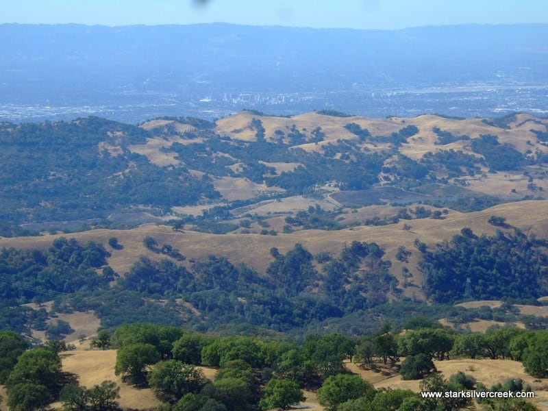 Viewing downtown San Jose from the Lick Observatory on Mount Hamilton