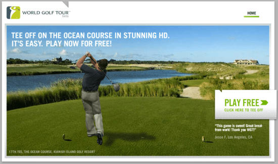 World Golf Tour HD