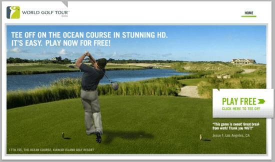 World Golf Tour HD