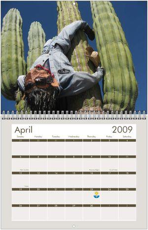 Loreto Calendar 2009 April