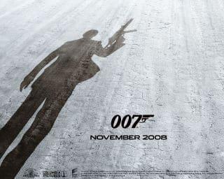Quantum of Solace James Bond Movie Poster 007 November 2008