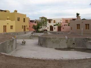 Swimming Pool Loreto Founder's Neighborhood Baja Mexico