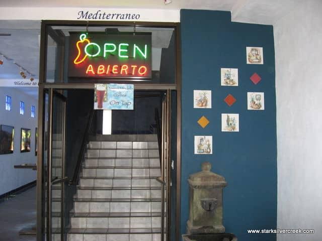 Entrance to Mediterraneo