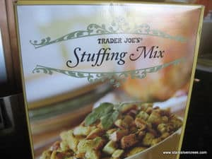 Trader Joe's Stuffing Mix - Thanksgiving Turkey