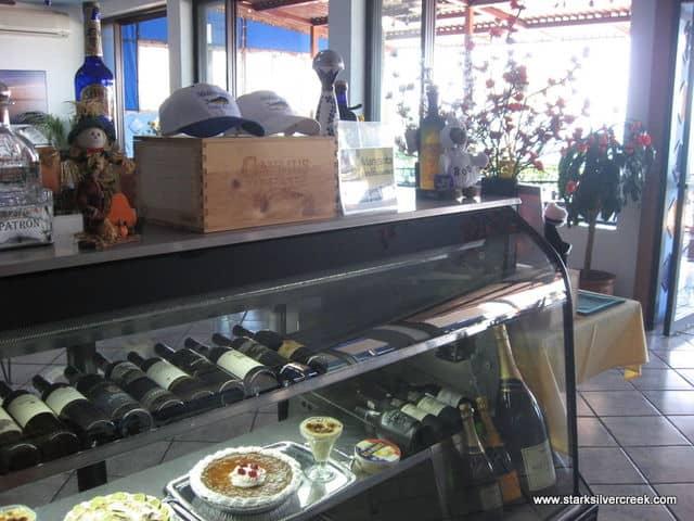 Wines and Desserts at Mediterraneo