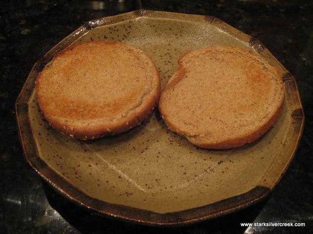 Open Face Turkey Sandwich 01